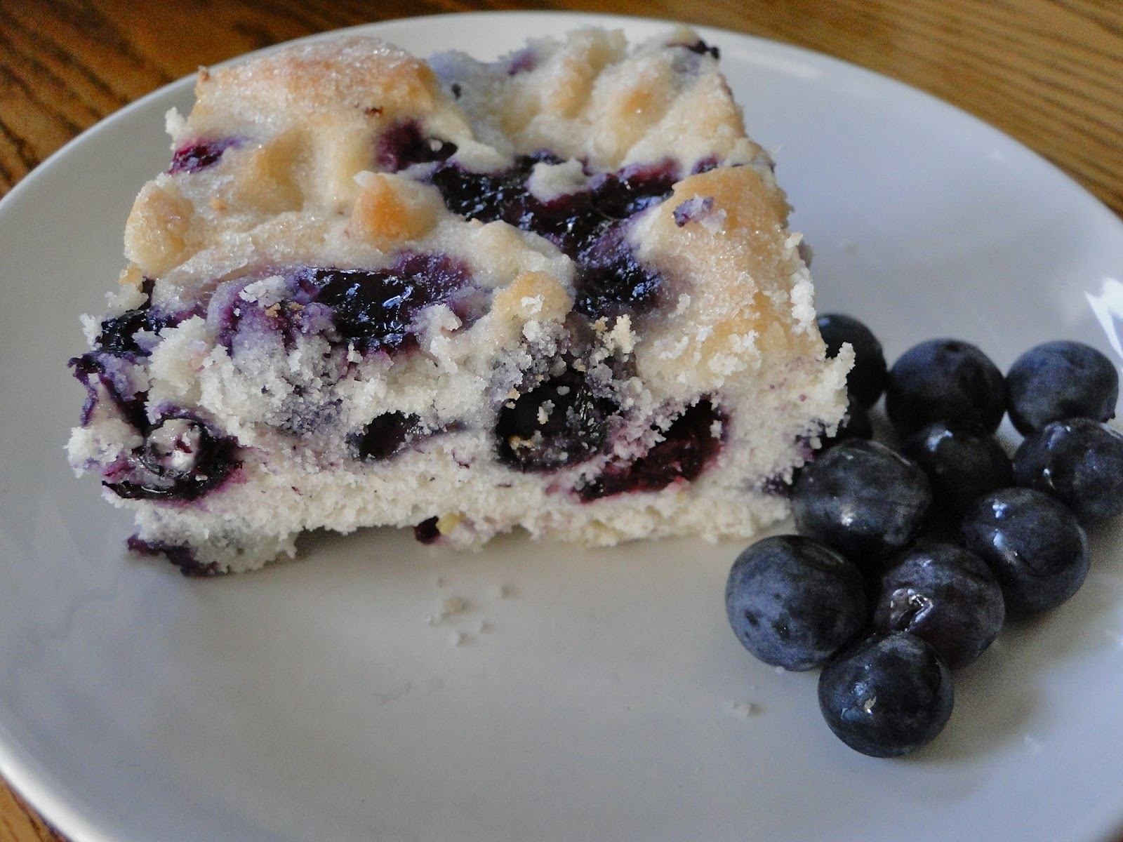 Tar Heel Taste Bud: Blueberry-Buttermilk Breakfast Cake