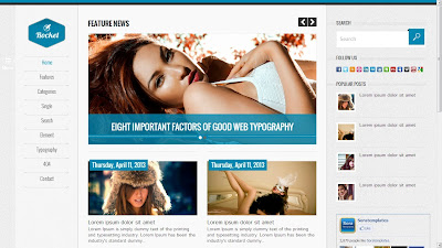 Rocket Blogger Theme