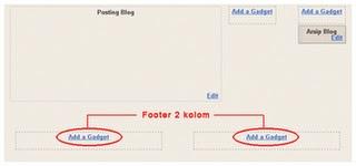 divide footer2 column