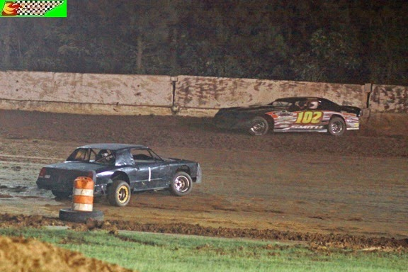 Camden Speedway 6/14/2014 (Steven Luboniecki photo for Middle Tennessee Racing Scene)