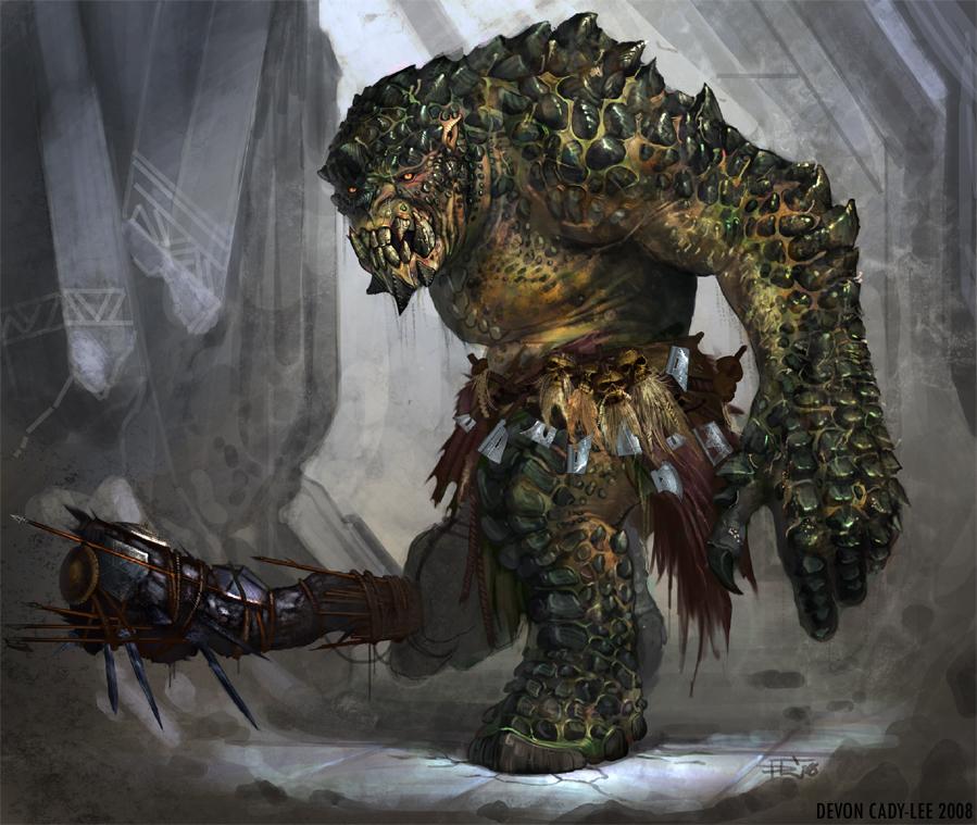 --El troll-- Lotro_cave_troll_by_gorrem