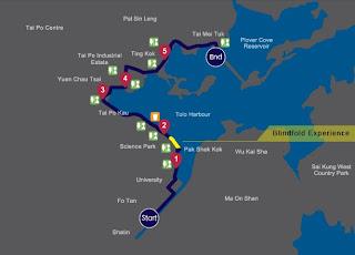 ORBIS Moonwalker Route