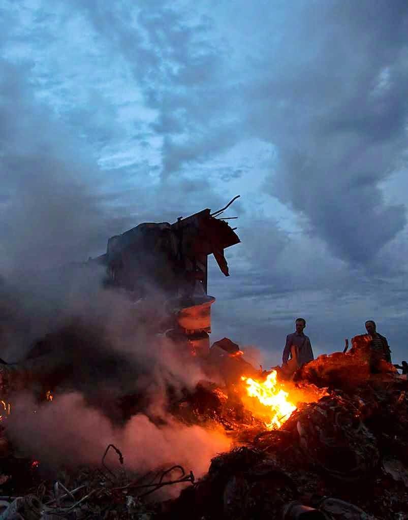 O megacrime do MH17 deu um fecho preocupante à viagem