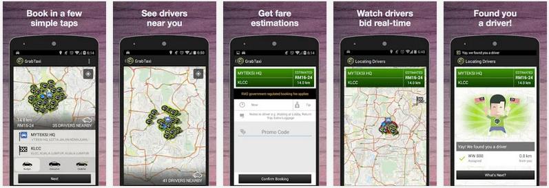 Aplikasi Android Untuk Memesan Taxi Terbaru