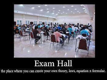 #WW 43 | Exam Hall