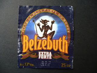 the strongest beer in the world Belzebuth