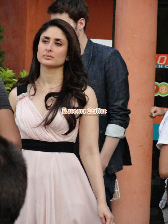  Kareena Kapoor Ad Still -  Kareena Kapoor on the sets of an Ad shoot