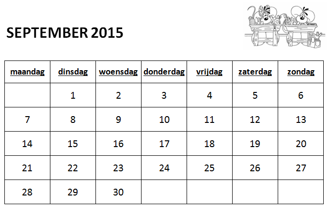 gietjes corner schooljaarkalender 2015 2016. Black Bedroom Furniture Sets. Home Design Ideas