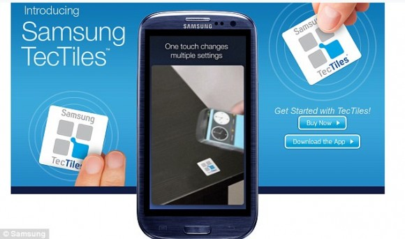 Samsung Tec Tiles: New leap in the Smart phones world