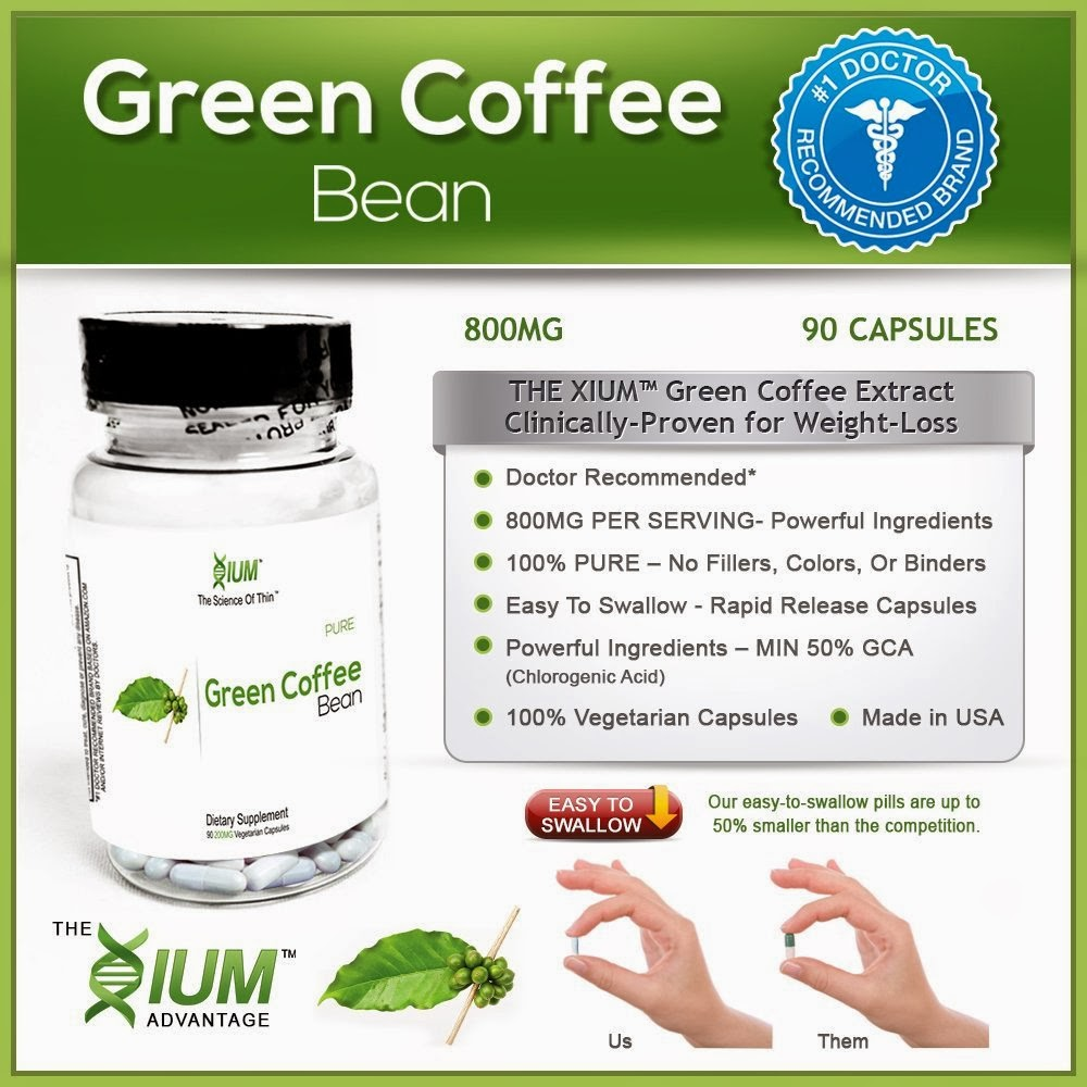 xium green coffee extract