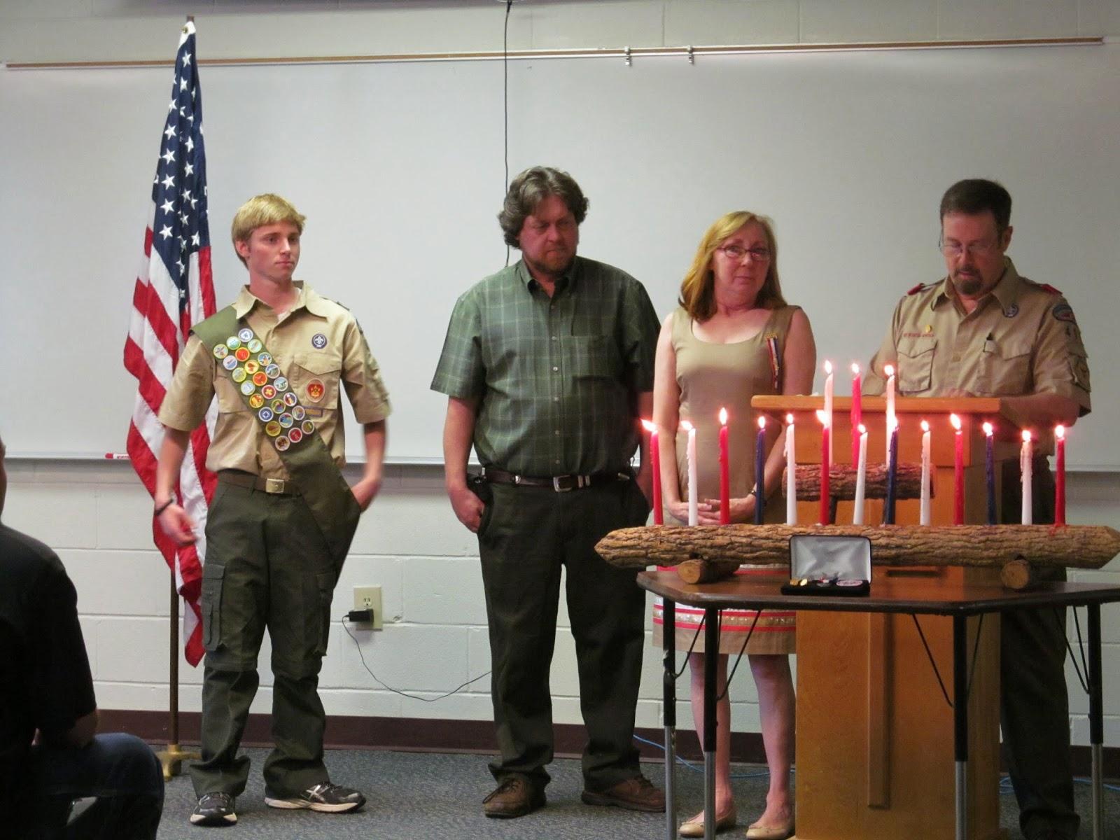 Montgomery Catholic's David Fulton Receives Eagle Scout Rank 2