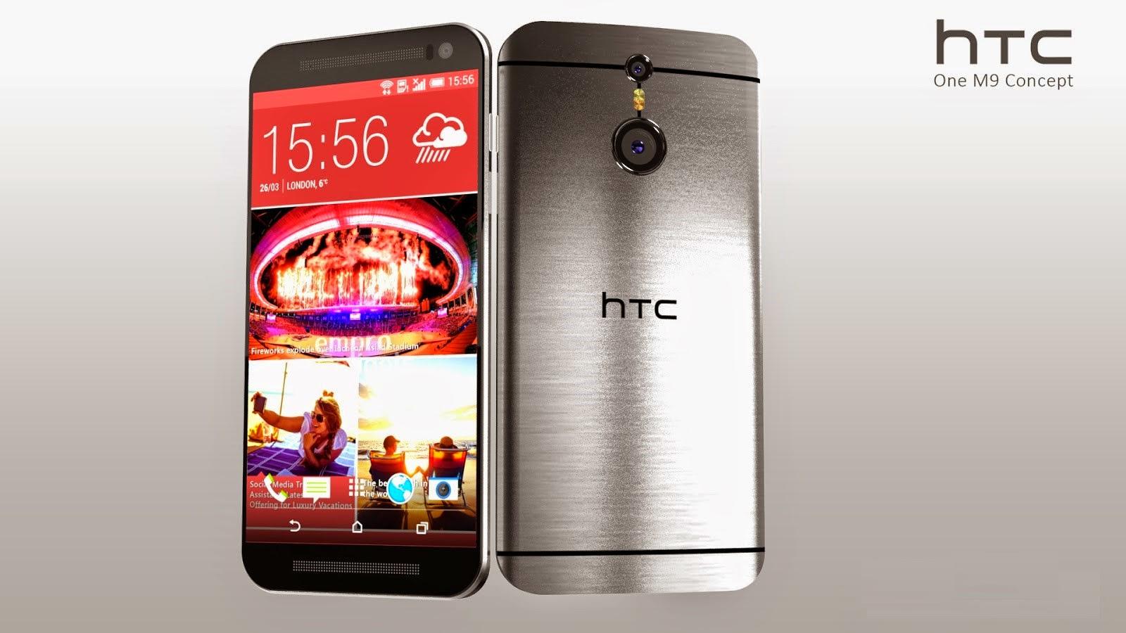 HTC One M9 dilengkapi kamera 20 MP