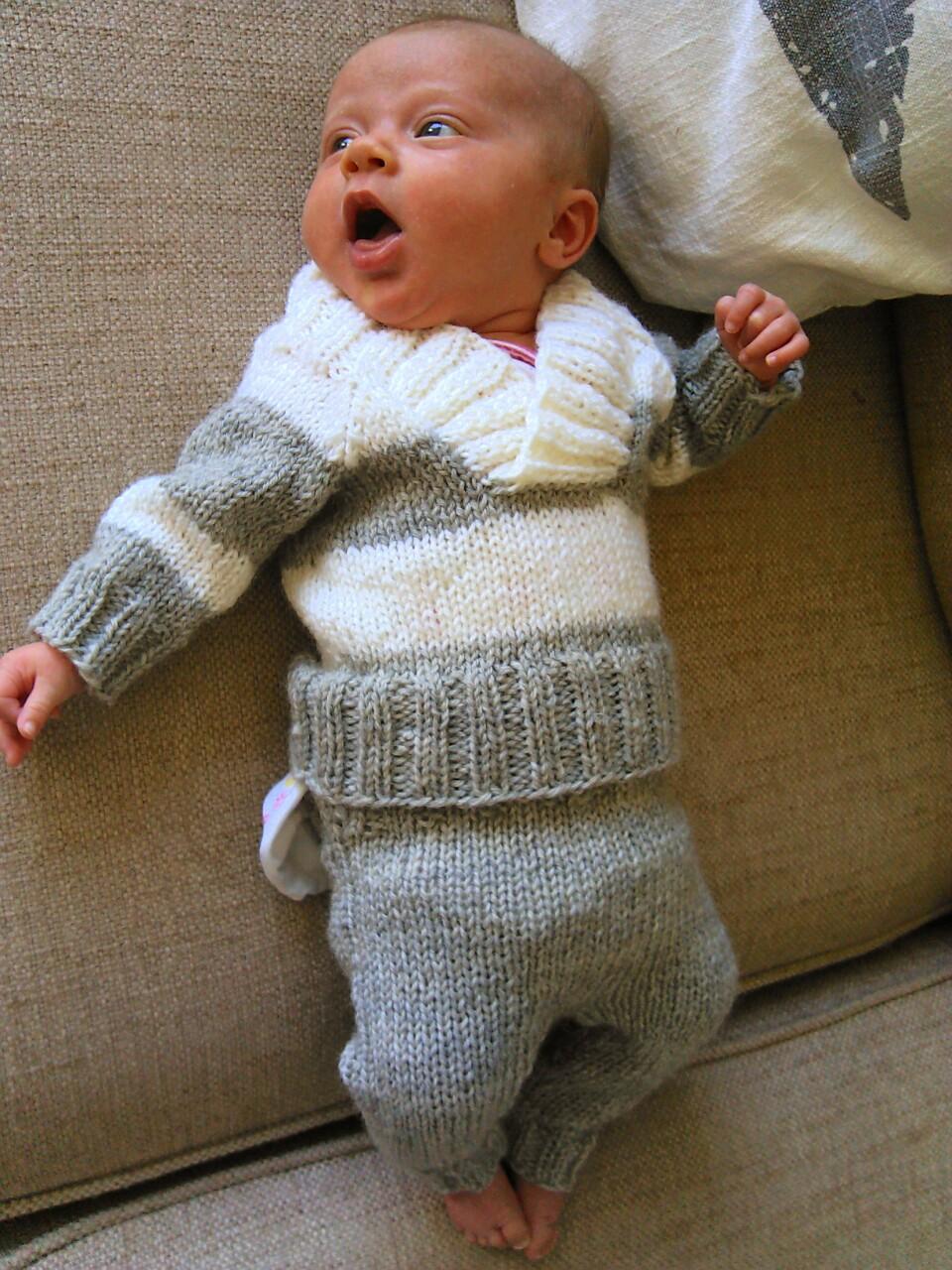 strikketøy til baby