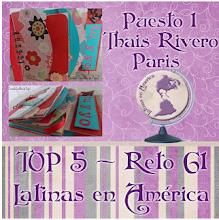 Puesto 1 reto 61 Latinas en America