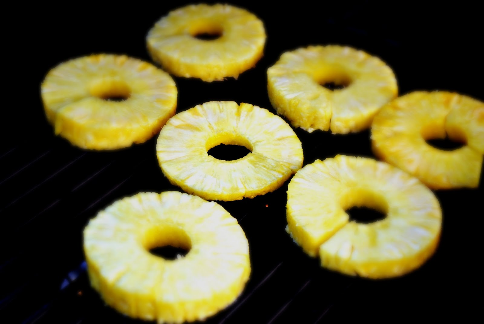 Grilled Maple-Chipotle Pineapple Rings Recipes — Dishmaps