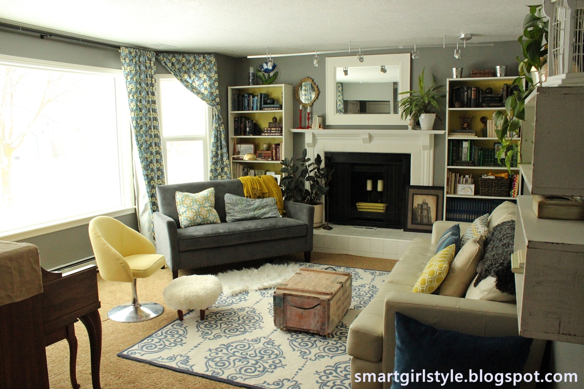 smartgirlstyle: New Living Room Curtains and a Can of Worms