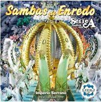 Capa do CD dos Sambas de Enredo 2013 das Escola de Samba da Série A do Rio de Janeiro, antigo Grupo de Acesso