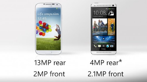 Samsung Galaxy S4 vs HTC One - Camera Comparison