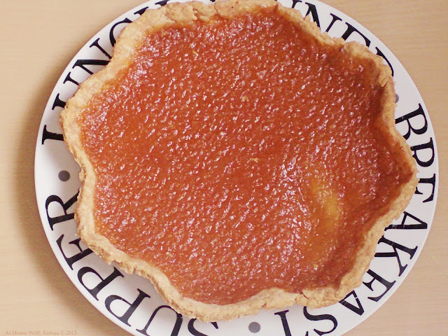 treacle tart recipe | Halal Home Cooking