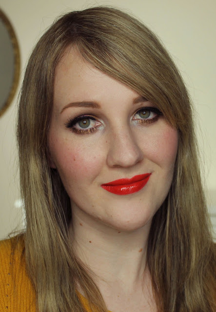 YSL Rouge Pur Couture - 13 Le Orange Lipstick Swatches & Review