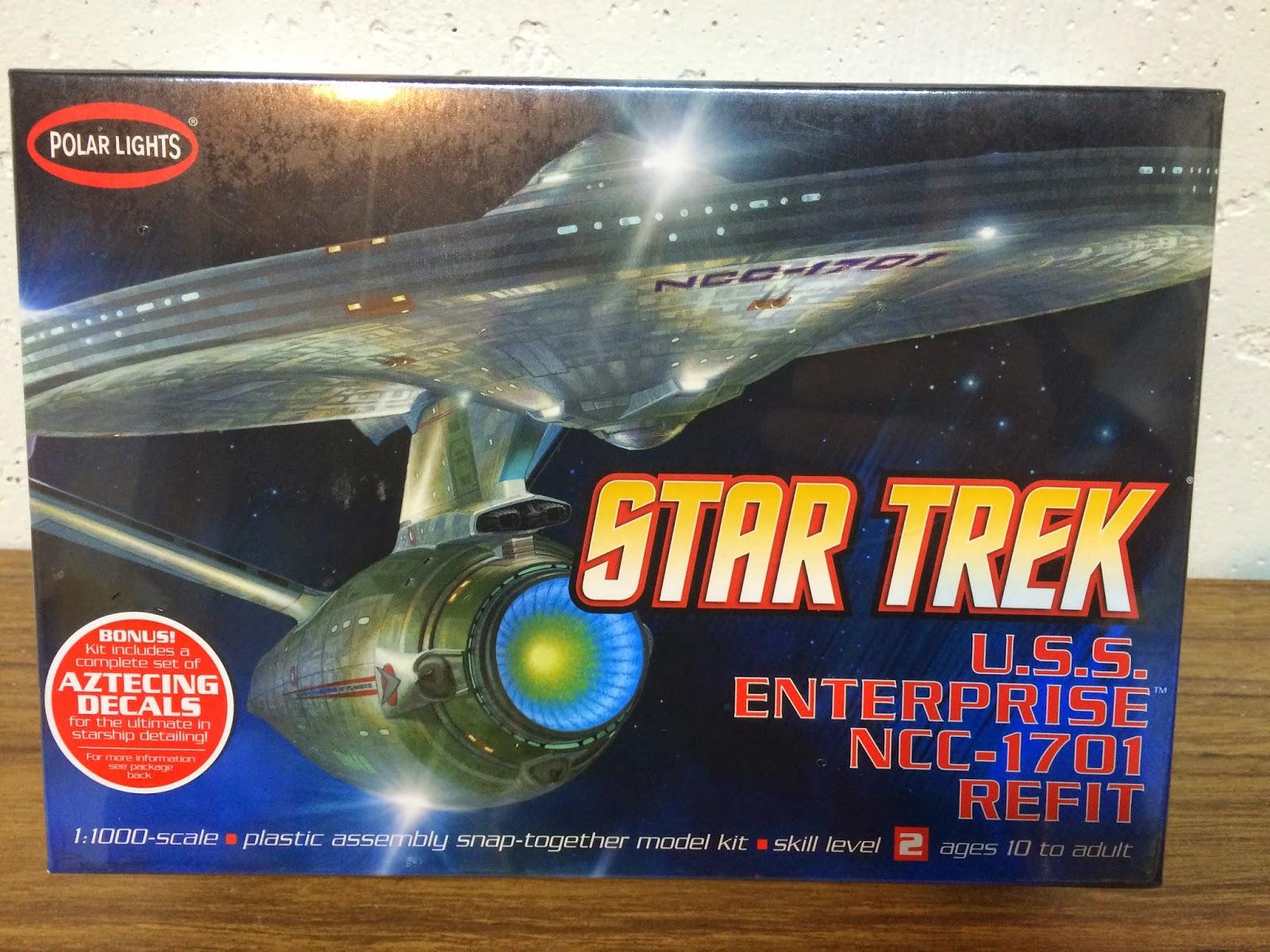 Star trek uss enterprise ncc refit 1 scale model - Uss Enterprise Ncc 1701 A