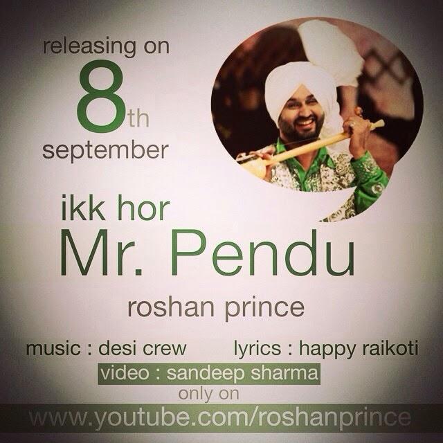 Ikk Hor Mr Pendu Lyrics - Roshan Prince