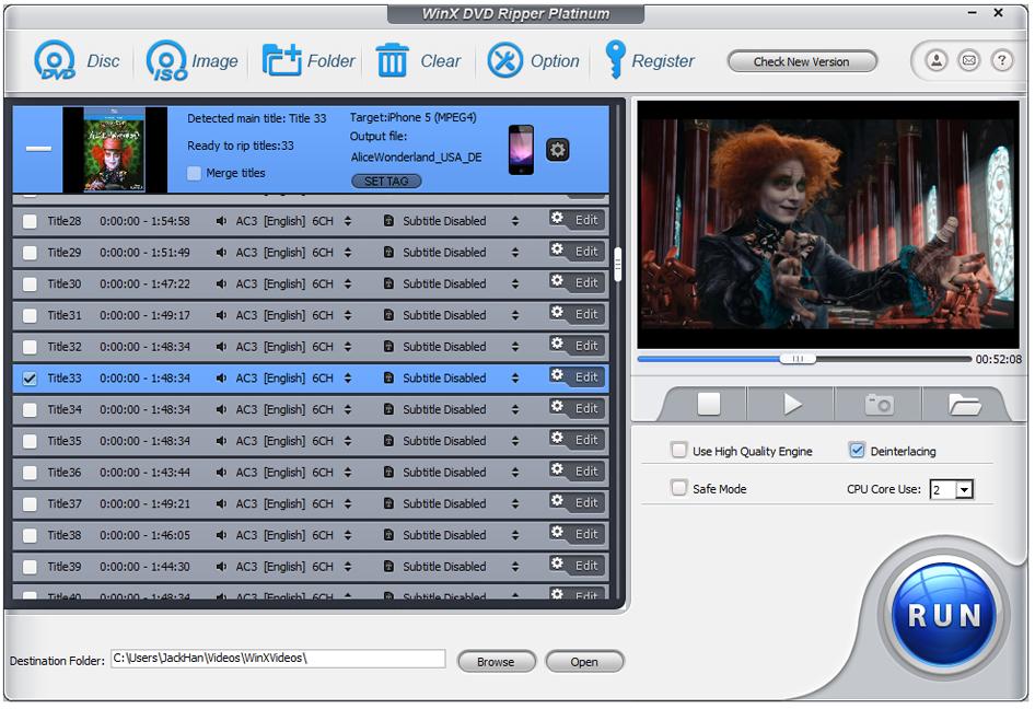 WinX DVD Ripper Platinum 7.5.0 Build 20140221 With License,Crack,Serials + Free Download - Full ...