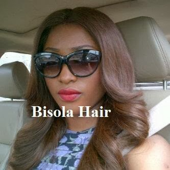 Bisola Hair Celebrity Exclusive Glamorous Glueless Silk