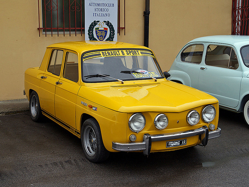 Rashnitze Auto: Renault 8 Gordini aka Dacia 1100 Gordini