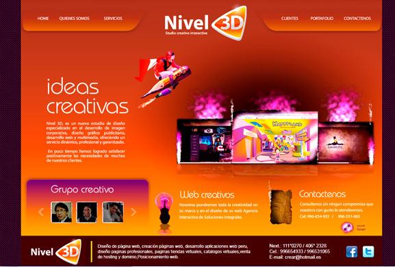 diseño de páginas web - agencia interactiva - www.webperugratis