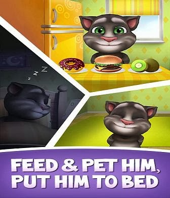 My Talking Tom Free Android Game