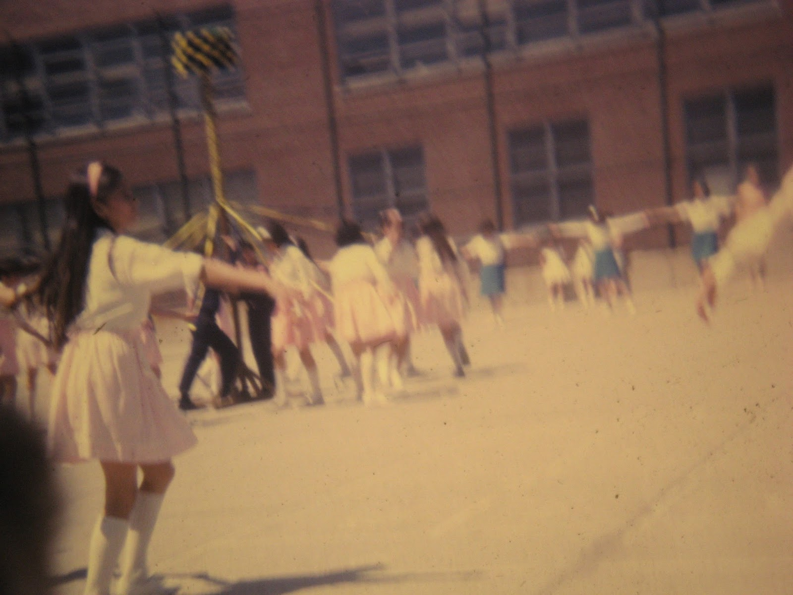PS22 May Pole dance June 1968