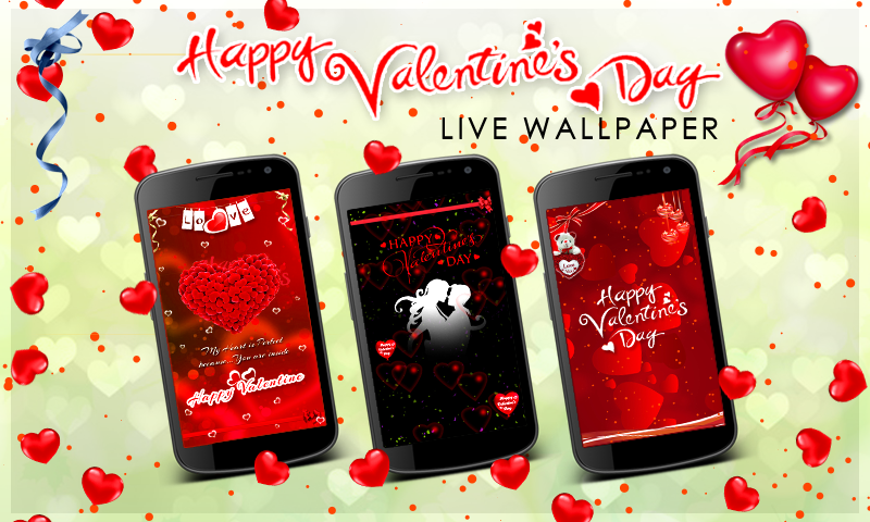 valentines day live wallpaper happy valentines day valentine - Live Valentine Wallpaper