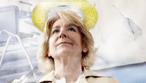 Esperanza Aguirre, condesa de Murillo, presidenta del gobierno regional