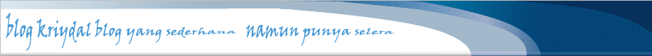 Blog Kriydal