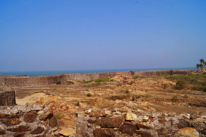 Inside Sindhudurg Fort
