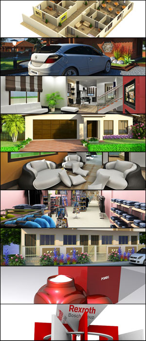 Architecture 3D Rendering Services