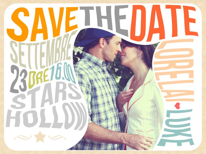 'SAVE THE DATE' UN SIMPATICO PROMEMORIA