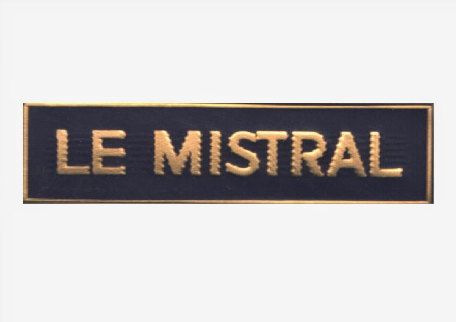 badge t e e le mistral badges insignes broches sncf. Black Bedroom Furniture Sets. Home Design Ideas