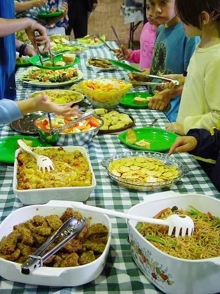 Muchas comida