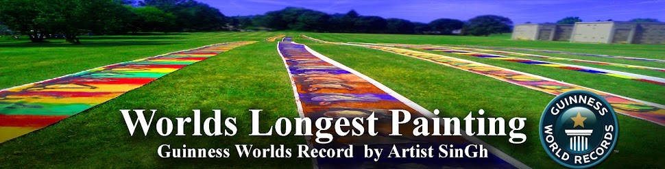 THE TRANSCENDENTAL- worlds longest painting by an individual
