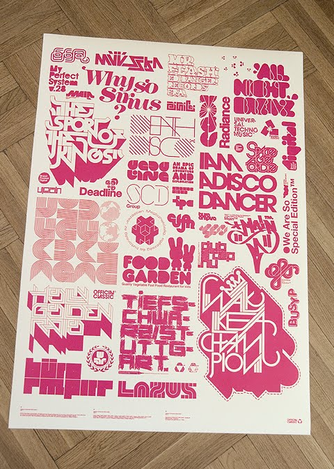 100 best typographic poster design for inspiration