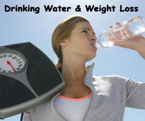 Want To Lose Weight? Drink Water