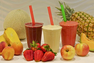 Stimulating smoothies with fruit Shakes for weight loss Green Smoothies Recipe in english