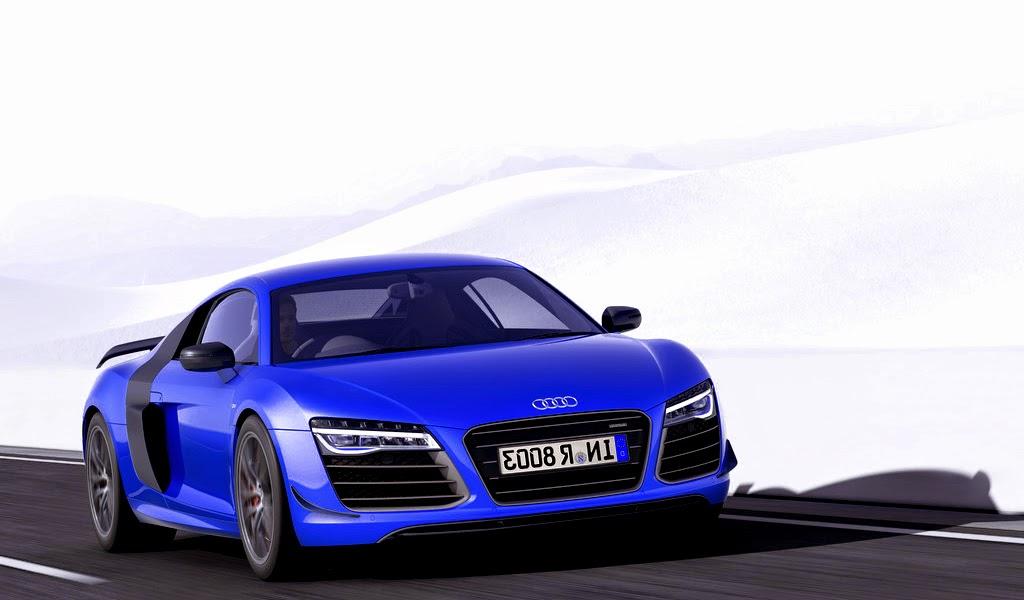 2015 Audi R8 LMX Ara Blue Crystal Effect Wallpaper