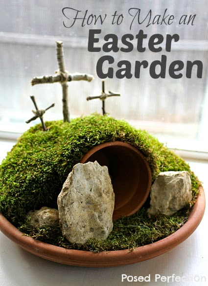 How to Make an Easter Garden-Top 10 Crafts/DIY/Tips of 2014