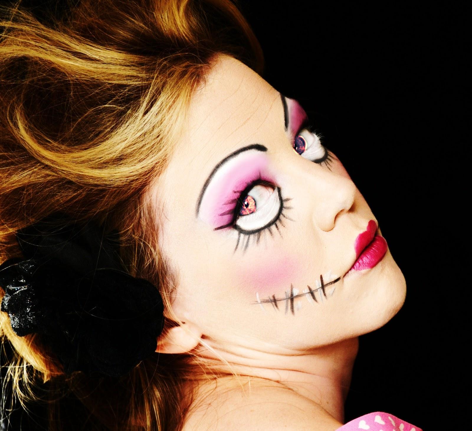 makeuplouisa: halloween - doll make-up