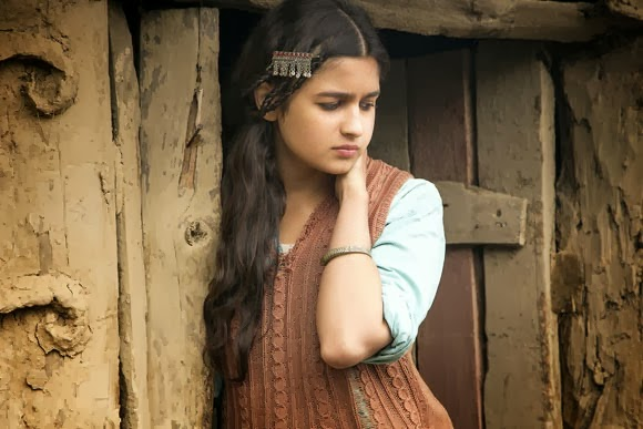 Kashmiri look of Alia
