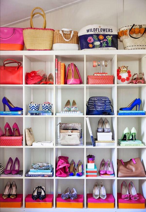 Como organizar un buen fondo de armario el vestidor de chus - Organizar bolsos ikea ...