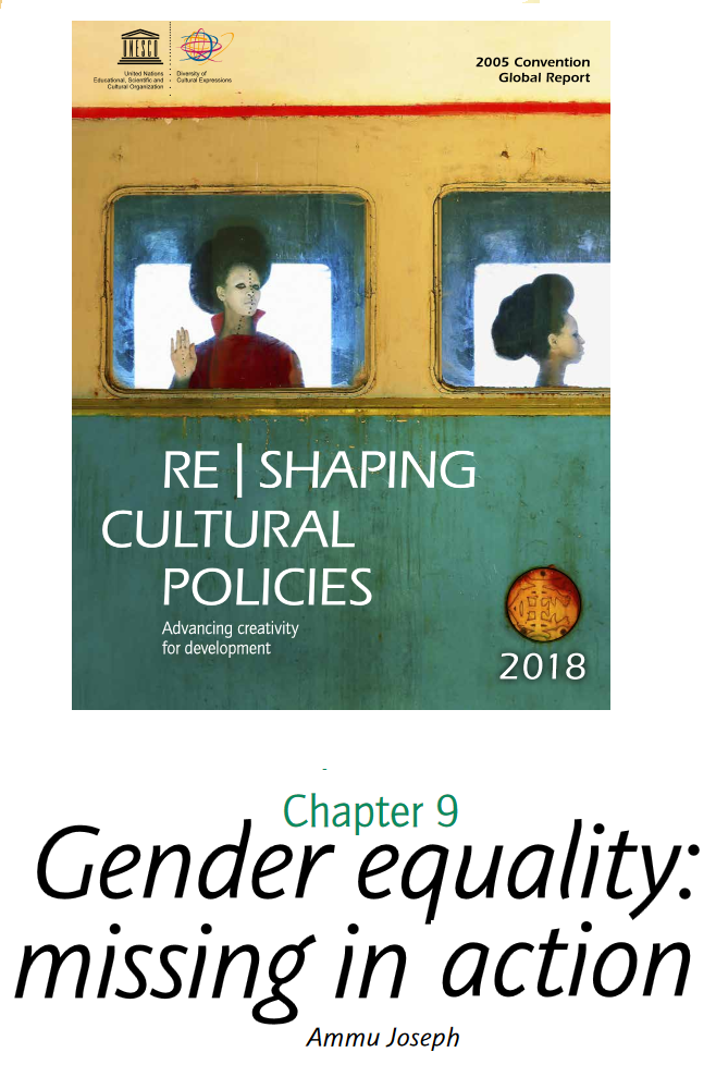 «A multifaceted gender gap persists in almost all cultural fields in most parts of the world»